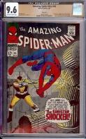 Amazing Spider-Man #46 CGC 9.6 ow/w Twin Cities