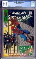 Amazing Spider-Man #65 CGC 9.8 ow/w