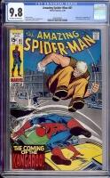 Amazing Spider-Man #81 CGC 9.8 ow/w