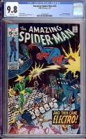 Amazing Spider-Man #82 CGC 9.8 w