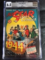 All Star Comics #21 CGC 6.5 ow/w Ohio