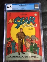 All Star Comics #27 CGC 6.5 w