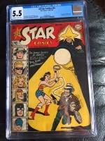 All Star Comics #44 CGC 5.5 ow/w