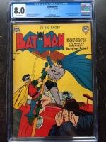 Batman #60 CGC 8.0 ow