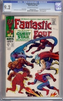Fantastic Four #73 CGC 9.2 ow/w