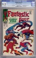 Fantastic Four #73 CGC 9.2 cr/ow