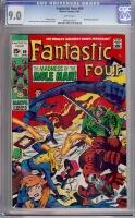 Fantastic Four #89 CGC 9.0 w