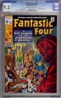 Fantastic Four #96 CGC 9.2 ow/w