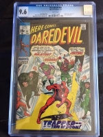 Daredevil #61 CGC 9.6 w