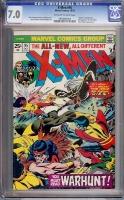 X-Men #95 CGC 7.0 ow/w