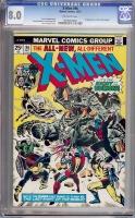 X-Men #96 CGC 8.0 ow