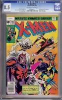 X-Men #104 CGC 8.5 ow/w