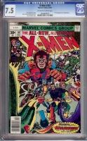X-Men #107 CGC 7.5 ow/w