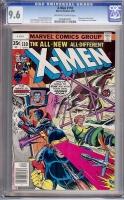 X-Men #110 CGC 9.6 ow/w