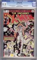 X-Men #130 CGC 8.5 ow/w