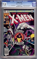 X-Men #139 CGC 7.5 ow/w