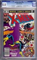 Uncanny X-Men #148 CGC 8.0 ow/w