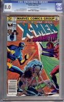 Uncanny X-Men #150 CGC 8.0 ow/w