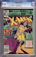 Uncanny X-Men #151 CGC 8.0 ow/w
