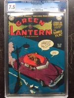 "Green Lantern #38 CGC 7.5 ow/w Davis Crippen (""D"" Copy)"