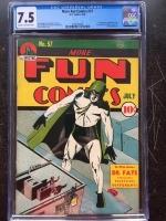 More Fun Comics #57 CGC 7.5 cr/ow