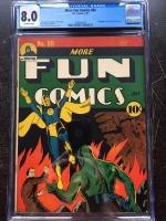 More Fun Comics #69 CGC 8.0 ow