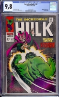 Incredible Hulk #107 CGC 9.8 w