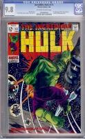 Incredible Hulk #111 CGC 9.8 ow/w