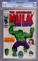 Incredible Hulk #116 CGC 9.8 ow/w