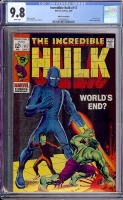 Incredible Hulk #117 CGC 9.8 w John G. Fantucchio