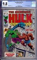 Incredible Hulk #122 CGC 9.8 w