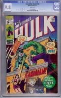 Incredible Hulk #138 CGC 9.8 w