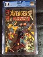 Avengers #29 CGC 8.5 ow/w