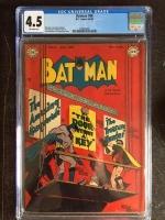 Batman #54 CGC 4.5 ow