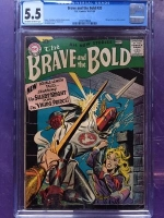 Brave and the Bold #20 CGC 5.5 ow/w
