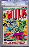 Incredible Hulk #159 CGC 9.8 ow/w