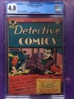 Detective Comics #109 CGC 4.0 cr/ow