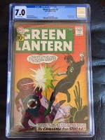 Green Lantern #8 CGC 7.0 ow