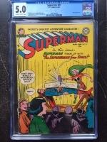 Superman #81 CGC 5.0 ow/w