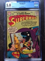 Superman #113 CGC 5.0 ow/w