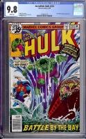 Incredible Hulk #233 CGC 9.8 w
