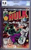 Incredible Hulk #250 CGC 9.8 w