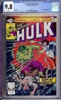 Incredible Hulk #256 CGC 9.8 w
