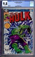 Incredible Hulk #262 CGC 9.8 w