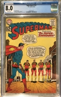 Superman #153 CGC 8.0 ow