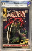 Daredevil #32 CGC 9.2 ow