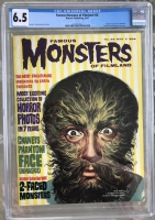Famous Monsters of Filmland #28 CGC 6.5 cr/ow
