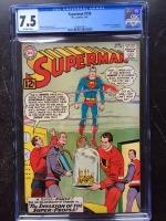 Superman #158 CGC 7.5 ow