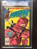 Daredevil #181 CGC 9.8 w