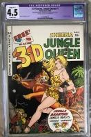 3-D Sheena, Jungle Queen #1 CGC 4.5 ow